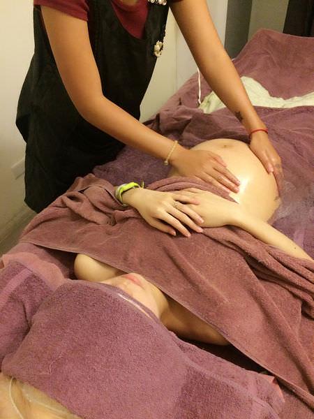 [體驗]台北信義區永春站慧妮克斯美學館-孕婦SPA初體驗消除水腫疲勞。