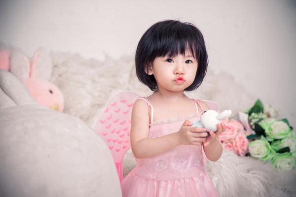 [育兒]台中柏琳婚紗寶寶寫真初體驗-凡凡兩週年紀念照!!!