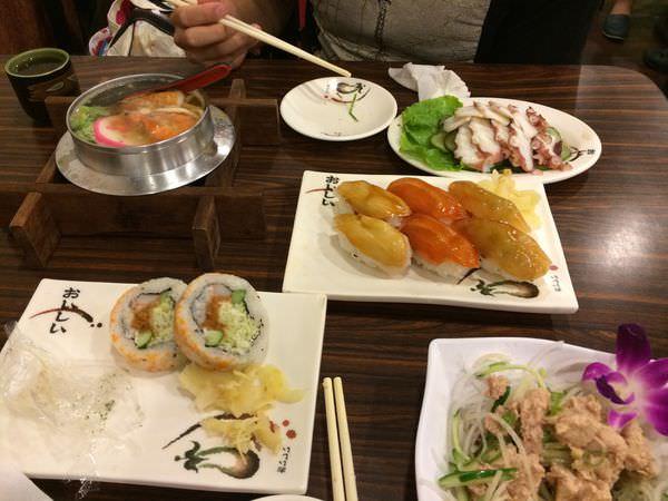 [食記]基隆中正區和蕎屋壽司料理店-平價日式料理。