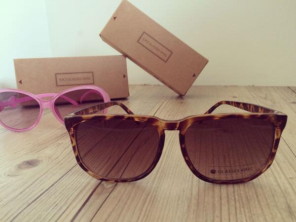 [開箱]眼鏡王-網購平價又時尚,抗UV400的太陽眼鏡。