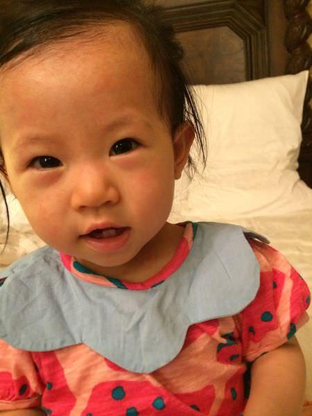 [育兒]寶寶發燒燒不停,讓媽媽都心慌慌的玫瑰疹駕到!!!!!