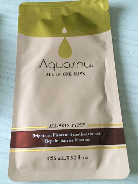 [保養]Aquashui艾沛妮面膜&旅行組,在家也要美美的保養品。(已停售)