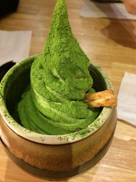 [食記]高雄三星園抹茶冰-日本茶專賣店