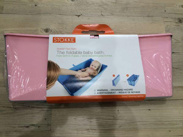 [開箱]Flexibath攜帶型折疊式澡盆,外出旅遊必備可愛又輕巧。