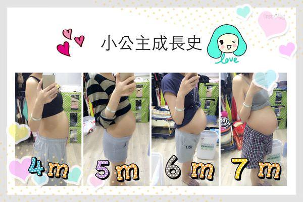 [好孕]7~9個月緊張兮兮的孕後期、疑似破水&內診很痛