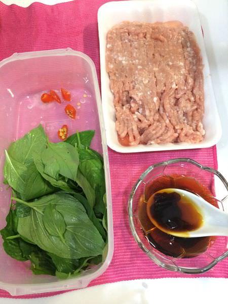 [食譜]泰式打拋豬,在家也能吃到泰式料理,新手必學。