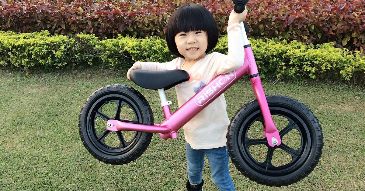[開箱]凡凡超愛 超輕量級滑步車平衡車 PushBike-辛酉國際 Rishon