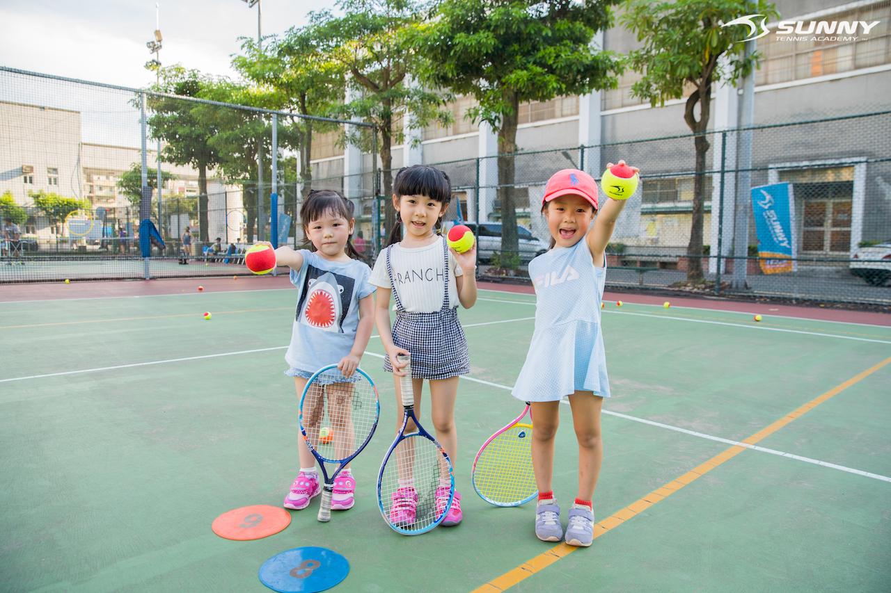 [親子]幼兒童網球初體驗來摟!全台最大幼兒童網球推薦-陽光網球教學中心  SUNNY TENNIS